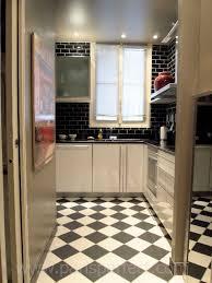 black and white kitchen floor ideas white tile kitchen floor black kitchen flooring ideas kitchen