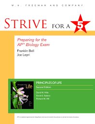 strive for a 5 preparing for the ap biology examination franklin