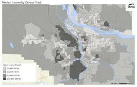 Census Tract Maps Median Income By Census Tract Regional Equity Atlas