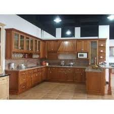 Wooden Kitchen Cabinets In Pune Maharashtra Wood Kitchen - Kitchen cabinet suppliers