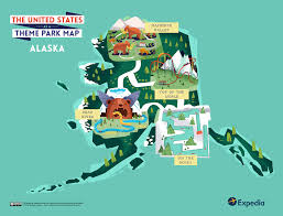 Map Of United States National Parks by Outdoor Adventure A Theme Park Map Of The United States Expedia