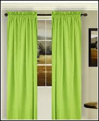 Lime Green Sheer Curtains Green Curtain Panels Lime Green Voile Curtain Panels Deconovo