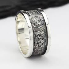 mens celtic rings rings for men handmade in ireland
