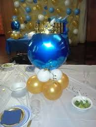 prince baby shower centerpiece for royal by platinumdiapercakes