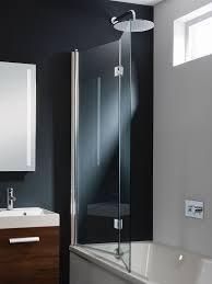 9 shower screen design waterlux designer square silver clear bath design double bath screen dual inward opening in design luxury
