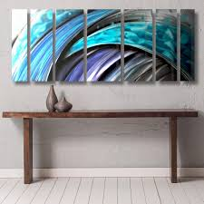 large metal wall art panels contemporary abstract art by dv8 studio