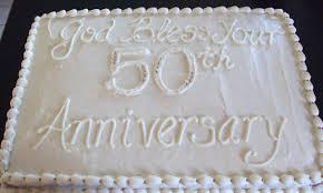 50th wedding anniversary cakes 50th wedding anniversary cake images marifarthing