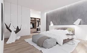 chambre contemporaine design chambre contemporaine avec peinture grise lit bas design hamac