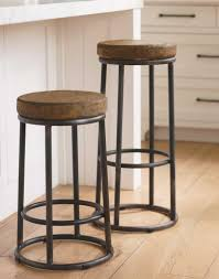 round industrial metal bar stools cut the legs in industrial