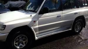 white mitsubishi montero 1997 mitsubishi pajero nl glx lwb 4x4 white 4 speed automatic