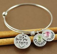 personalized bangles personalized name bracelet stackable bracelets personalized