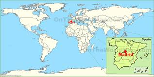 Spain Map Spain On World Map Imsa Kolese With Spain World Map Besttabletfor