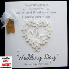 card for on wedding day personalised wedding cards ebay