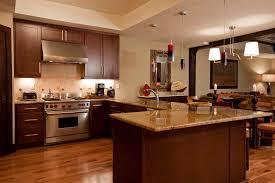 Kitchen Floors Ideas Hickory Flooring In Kitchen Three Bedroom Residence Lumiere