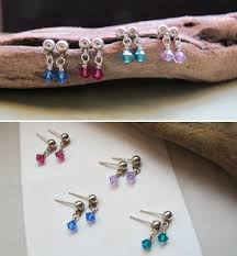 feather earrings for kids swarovski dangle stud earrings for kids children