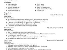 Hairdresser Resume 100 Hairdresser Resume Hairstylist Resume Cover Letter