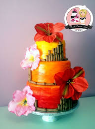 hawaiian themed wedding cakes 469 best cake images on cake ideas cake toppers and
