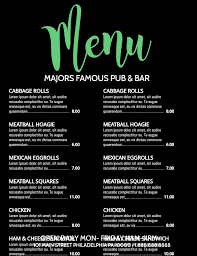 customizable menu templates 44 best menu templates images on poster maker