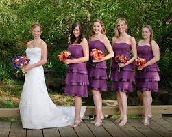 purple and orange wedding dress dahlia s day the wedding for the practical