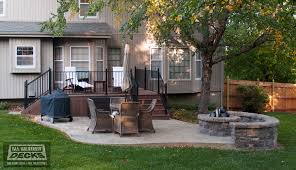 Replacing A Deck With A Patio Deck With Patio Wonderful Patio Deck Designs With Deck And Patio