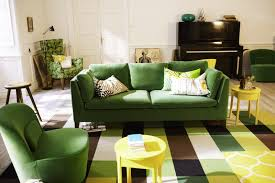 traditional sleeper sofa living room cream wall paint color yellow dinamis modern leather