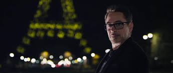 Tony Stark Tony Stark Gets Awkwardly With The Eiffel Tower In New