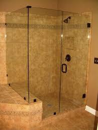 Sterling Frameless Shower Doors Bathroom Intriguing Corner Frameless Shower Door Ideas Some