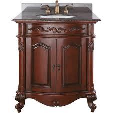 provence double sink vanity rattan wood bathroom furniture bellacor