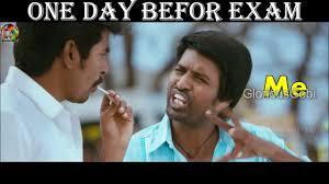 Exam Memes - semester exam scenario marana troll comedy memes dub in tamil
