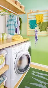 blending paint technique for a laundry room