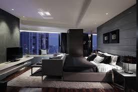 Modern Master Bedroom Design Ideas With Luxury Lamps White Bed - Contemporary master bedroom design ideas