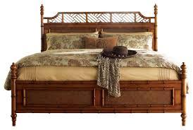 Wicker Beds Wicker Rattan King Size Platform Beds Houzz
