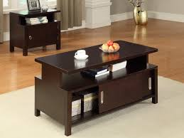 coffee table sets with storage dark wood coffee table sets drawers thelightlaughed com
