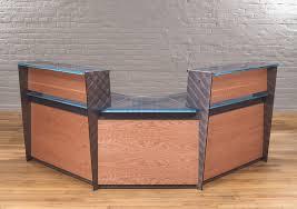 Modern Reception Desk Contemporary Reception Desks Custom Glass Reception Desks