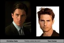 Christian Bale Meme - christian bale totally looks like tom cruise cheezburger funny