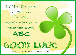 luck messages wishes and luck quotes 365greetings