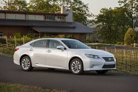 lexus es official the 2015 lexus es 300h hybrid receives some modest