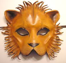 lion mask leather lion mask by teonova deviantart on deviantart the