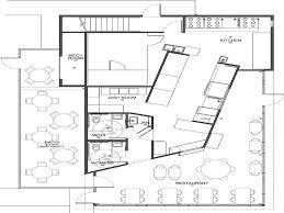 restaurant kitchen floor plan interior design