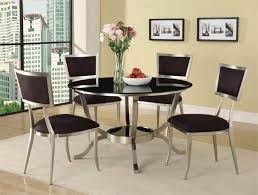 Round Dining Room Tables Sets by Dinning Contemporary Round Dining Room Tables Kitchen Table Sets