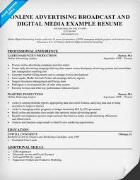 Job Desk Marketing Bank Online Advertising Broadcast Digital Media Resume