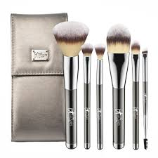 brand professional makeup brushes 6 pcs it for ulta foundation powder make up brush set