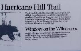 Interior Signs Trail Hurricane Hill Trail Th Sign Photos Diagrams U0026 Topos Summitpost