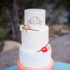 coral wedding cakes coral wedding cakes