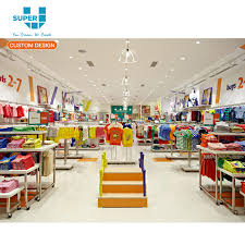 babies retail interior clothes store decorations jackets baby