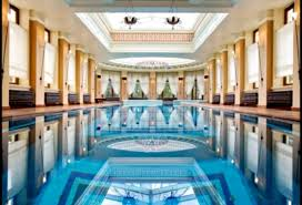 luxury indoor swimming pools with pool gym viewing gallery trends