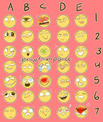 Expressions Meme - expressions meme by not hydrorose on deviantart
