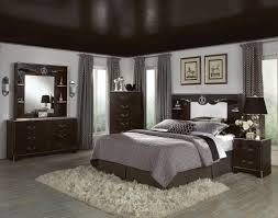 Gray Bedroom Decorating Ideas Entrancing 60 Gray Bedroom With Brown Furniture Design Ideas Of