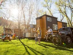 tiny house vacation in colorado springs co tiny house test drive try one on vacation before taking the plunge
