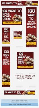make money banner ad template banner template web